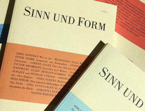 SINN UND FORM 6/2021